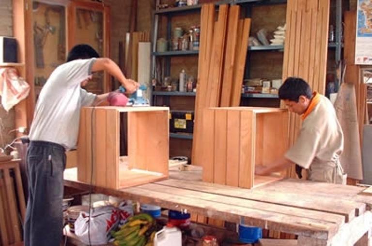 Riesgos laborales en la fabricación de muebles