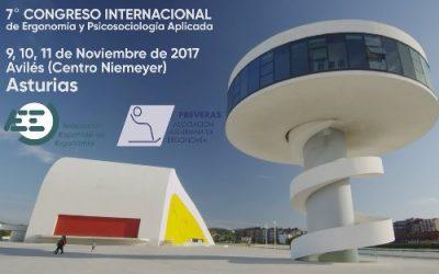 El Niemeyer acoge a partir de mañana el séptimo Congreso Internacional de Ergonomía