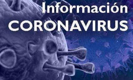 Actuaciones en relación al coronavirus
