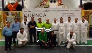 Una planta de Siemens en Cuenca celebra 10 años sin un solo accidente laboral