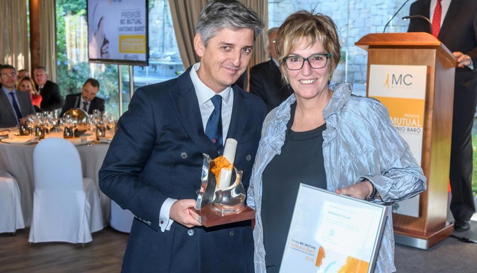 Empresa del sector Madera/Corcho premiada por su labor en prevención