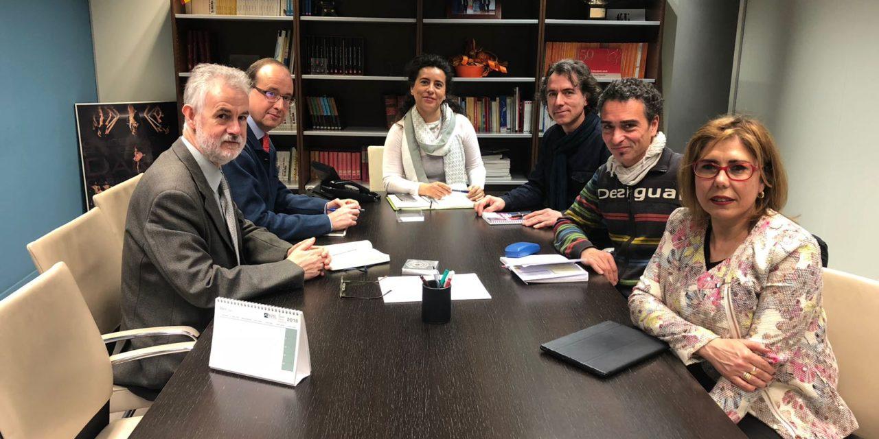 AFAMID Y LOS REPRESENTANTES DE PROFEMADERA SE REUNEN CON LA DIRECTORA GENERAL DE FORMACIÓN PROFESIONAL DE LA COMUNIDAD DE MADRID.