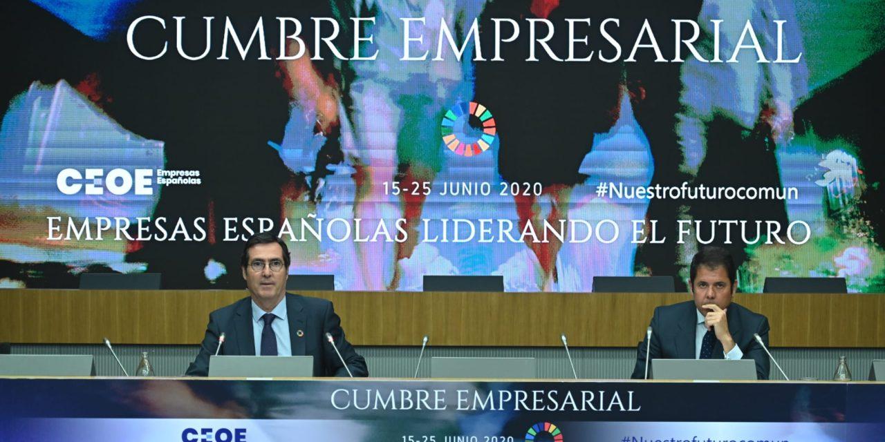 """CEOE PRESENTA LAS CONCLUSIONES DE LA CUMBRE """"EMPRESAS ESPAÑOLAS LIDERANDO EL FUTURO"""""""